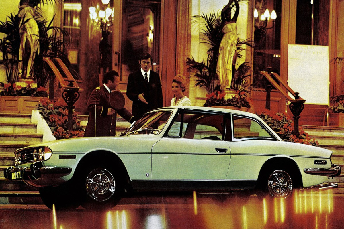 The cars : Triumph Stag development story